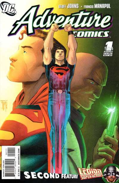 Cover for Adventure Comics (DC, 2009 series) #1 / 504 [Limited Edition Variant Cover]