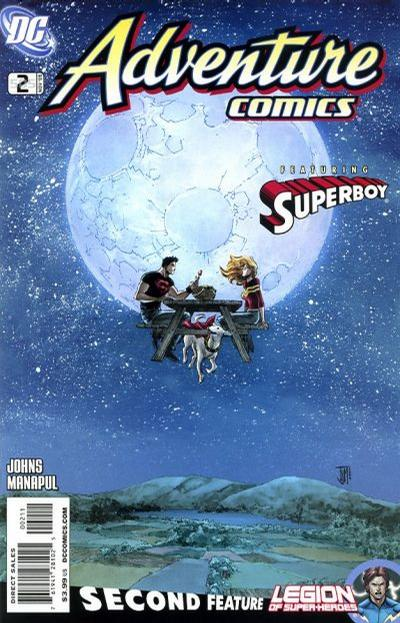 Cover for Adventure Comics (DC, 2009 series) #2 / 505 [Regular Direct Cover]