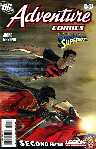 Cover for Adventure Comics (DC, 2009 series) #3 / 506 [Regular Direct Cover]