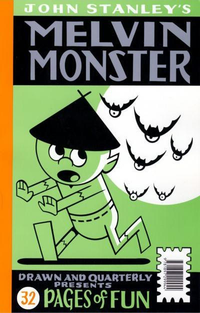 Cover for The John Stanley Library featuring Nancy & Melvin Monster: The Drawn & Quarterly Free Comic Book Day 2009 (Drawn & Quarterly, 2009 series)