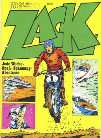 Cover for Zack (Koralle, 1972 series) #53/1972