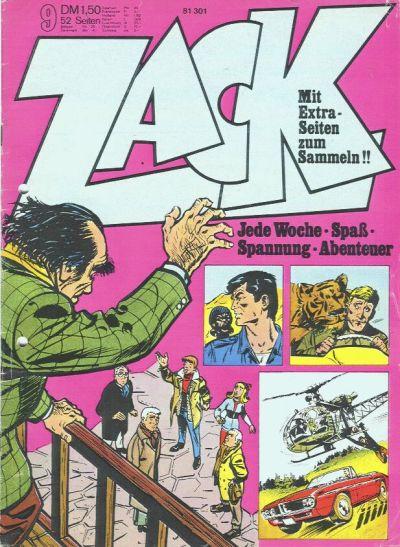 Cover for Zack (Koralle, 1972 series) #9/1973