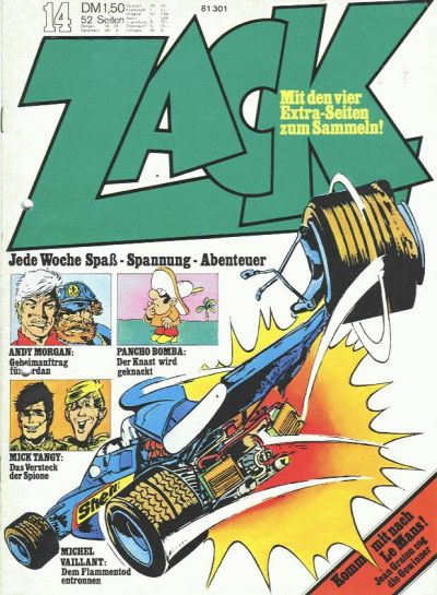 Cover for Zack (Koralle, 1972 series) #14/1973