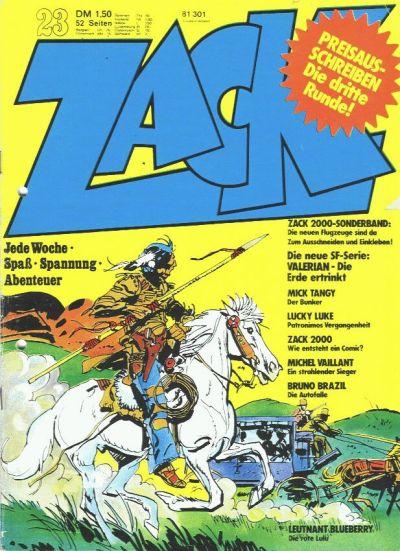 Cover for Zack (Koralle, 1972 series) #23/1973