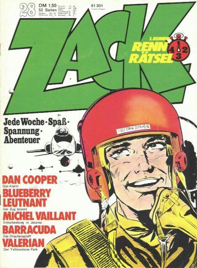 Cover for Zack (Koralle, 1972 series) #28/1973