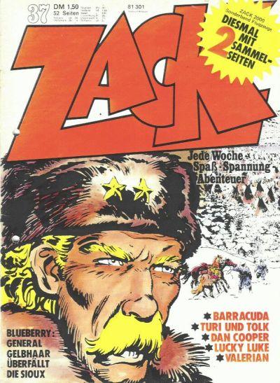 Cover for Zack (Koralle, 1972 series) #37/1973