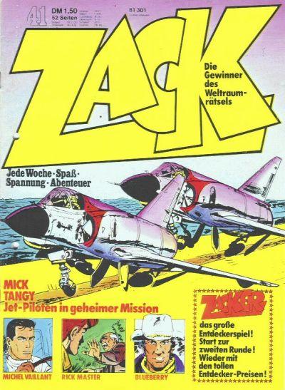 Cover for Zack (Koralle, 1972 series) #41/1973