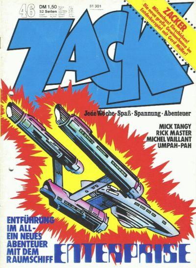 Cover for Zack (Koralle, 1972 series) #46/1973