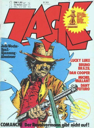 Cover for Zack (Koralle, 1972 series) #1/1974