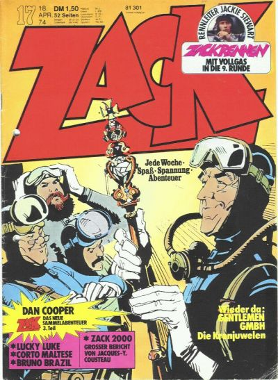 Cover for Zack (Koralle, 1972 series) #17/1974