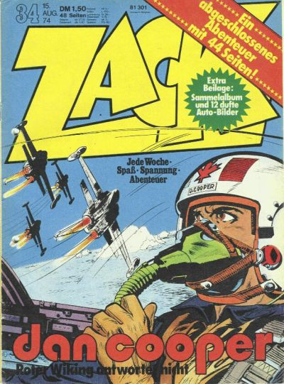 Cover for Zack (Koralle, 1972 series) #34/1974