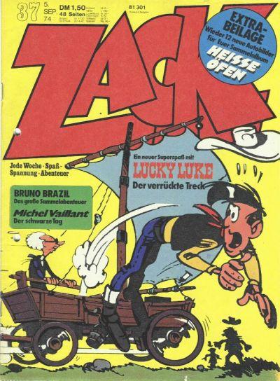 Cover for Zack (Koralle, 1972 series) #37/1974