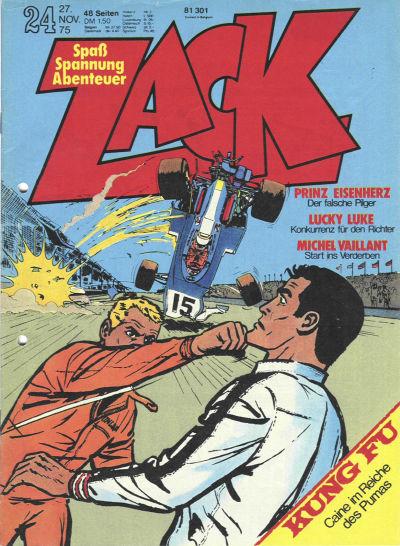 Cover for Zack (Koralle, 1972 series) #24/1975