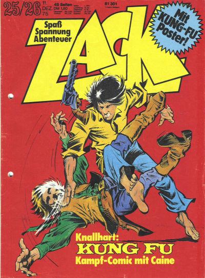 Cover for Zack (Koralle, 1972 series) #25-26/1975