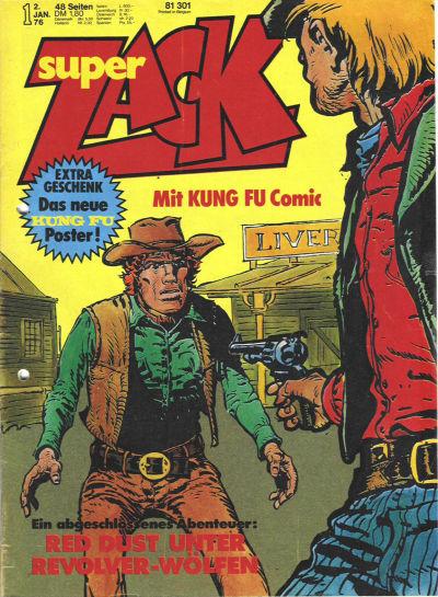 Cover for Zack (Koralle, 1972 series) #1/1976