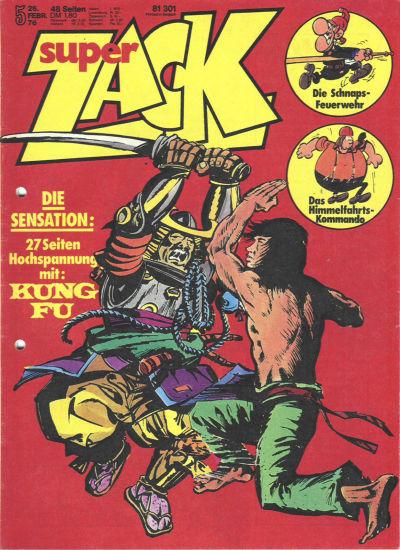 Cover for Zack (Koralle, 1972 series) #5/1976