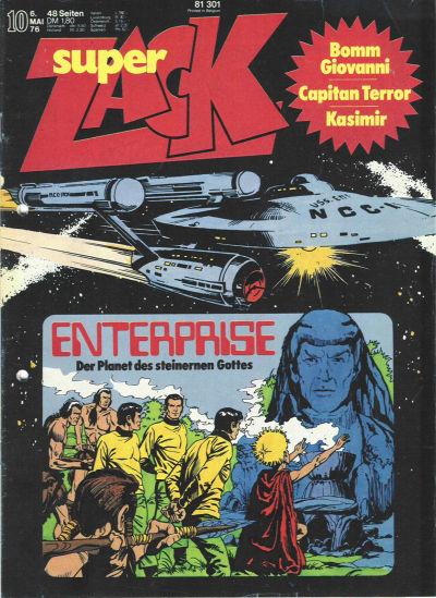 Cover for Zack (Koralle, 1972 series) #10/1976