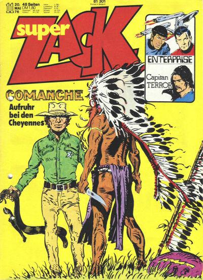 Cover for Zack (Koralle, 1972 series) #11/1976