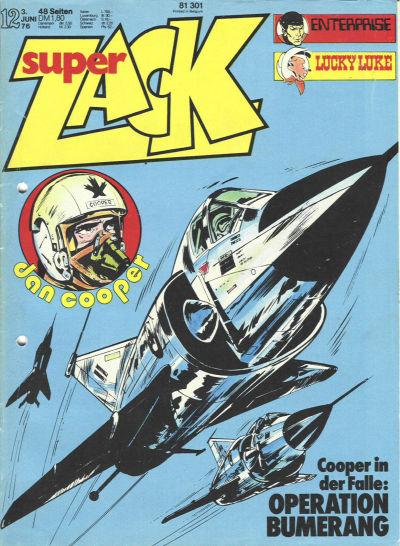 Cover for Zack (Koralle, 1972 series) #12/1976