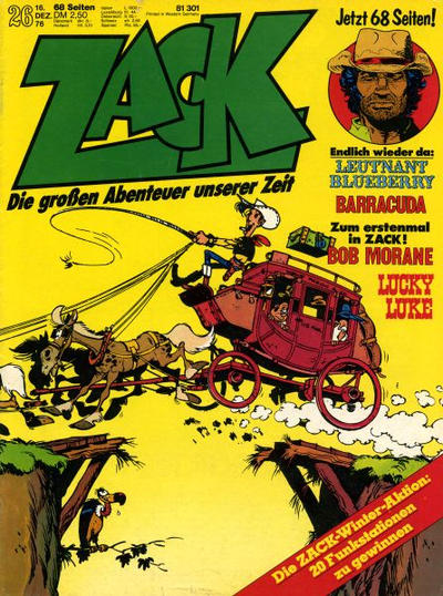 Cover for Zack (Koralle, 1972 series) #26/1976