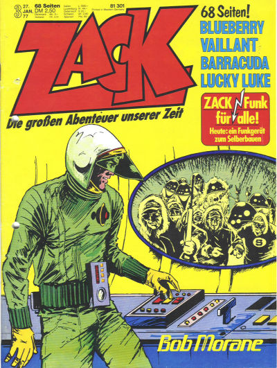 Cover for Zack (Koralle, 1972 series) #3/1977