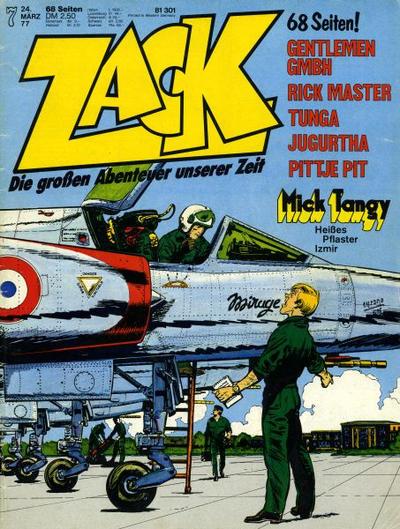 Cover for Zack (Koralle, 1972 series) #7/1977