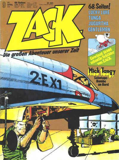 Cover for Zack (Koralle, 1972 series) #9/1977