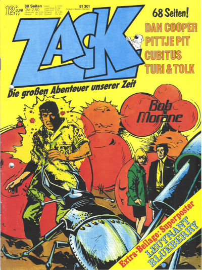 Cover for Zack (Koralle, 1972 series) #12/1977