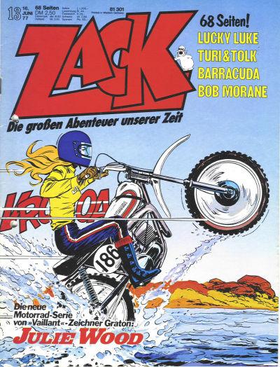 Cover for Zack (Koralle, 1972 series) #13/1977