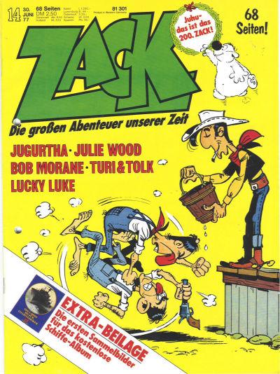 Cover for Zack (Koralle, 1972 series) #14/1977