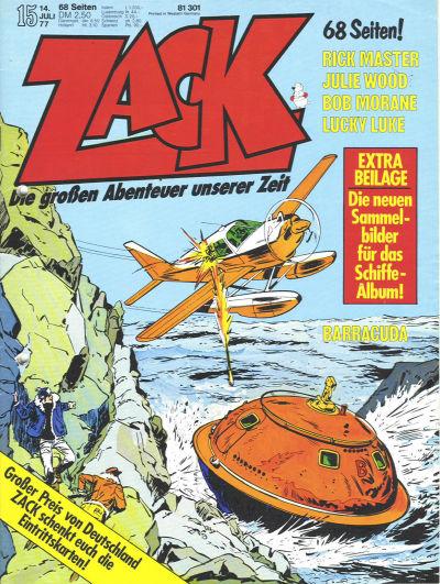 Cover for Zack (Koralle, 1972 series) #15/1977