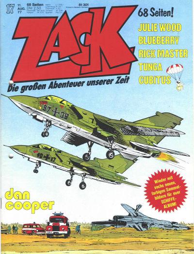 Cover for Zack (Koralle, 1972 series) #17/1977