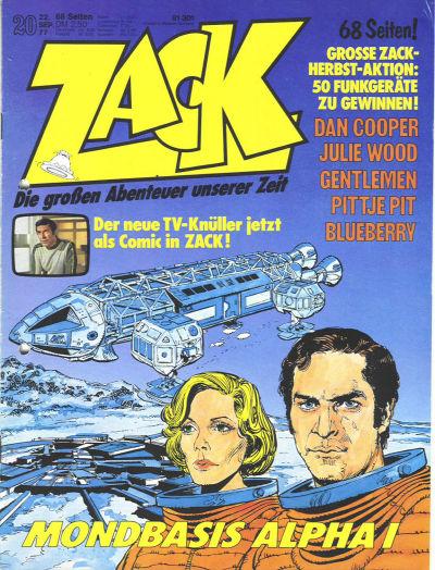 Cover for Zack (Koralle, 1972 series) #20/1977