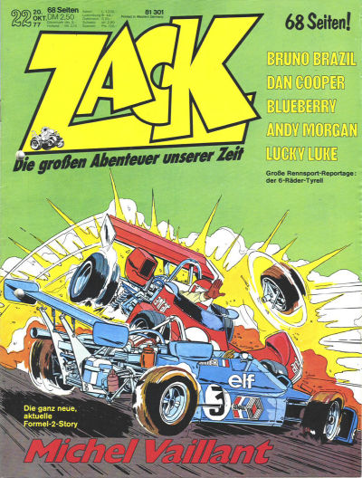 Cover for Zack (Koralle, 1972 series) #22/1977