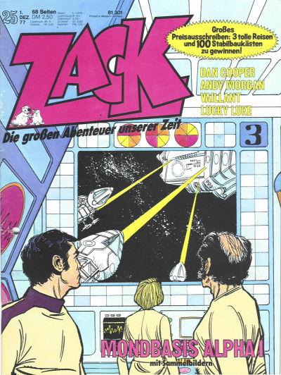 Cover for Zack (Koralle, 1972 series) #25/1977