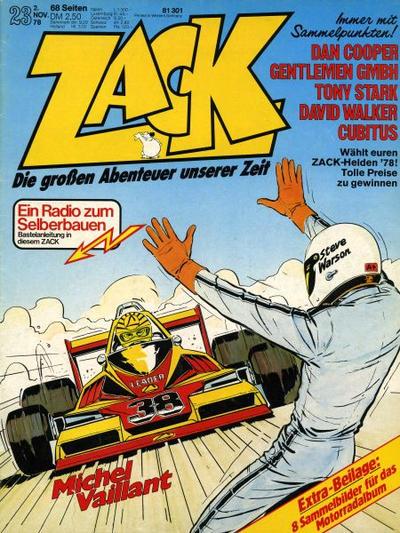 Cover for Zack (Koralle, 1972 series) #23/1978