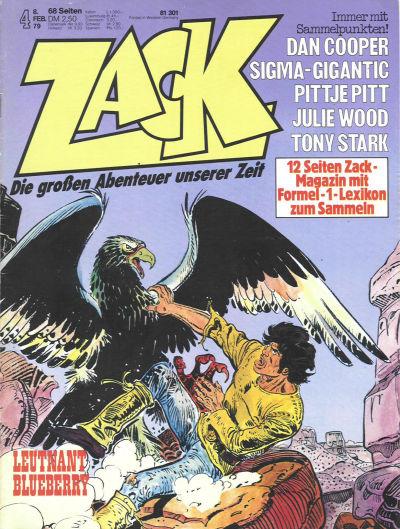 Cover for Zack (Koralle, 1972 series) #4/1979
