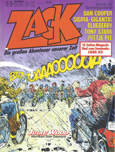 Cover for Zack (Koralle, 1972 series) #5/1979