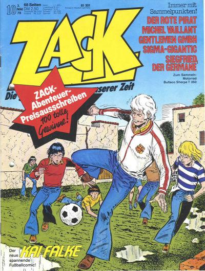 Cover for Zack (Koralle, 1972 series) #10/1979