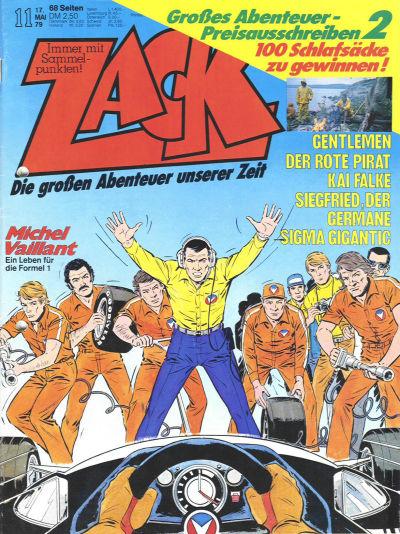 Cover for Zack (Koralle, 1972 series) #11/1979