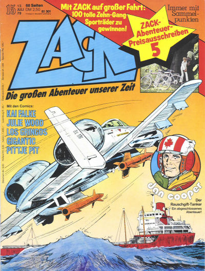 Cover for Zack (Koralle, 1972 series) #15/1979