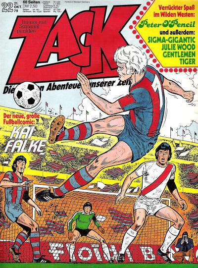 Cover for Zack (Koralle, 1972 series) #22/1979