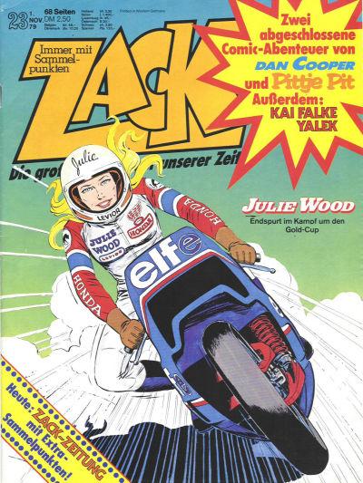 Cover for Zack (Koralle, 1972 series) #23/1979