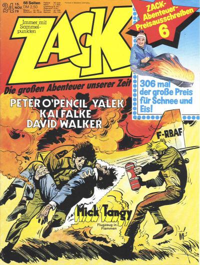 Cover for Zack (Koralle, 1972 series) #24/1979