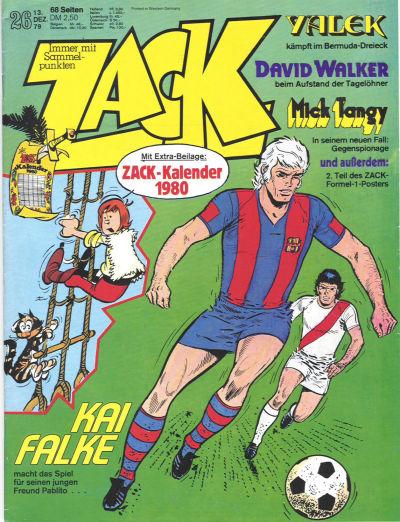 Cover for Zack (Koralle, 1972 series) #26/1979