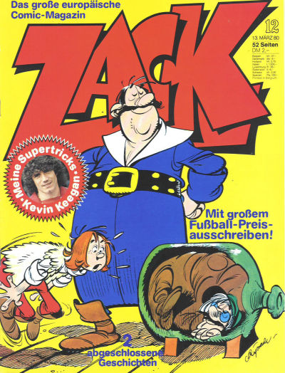 Cover for Zack (Koralle, 1972 series) #12/1980