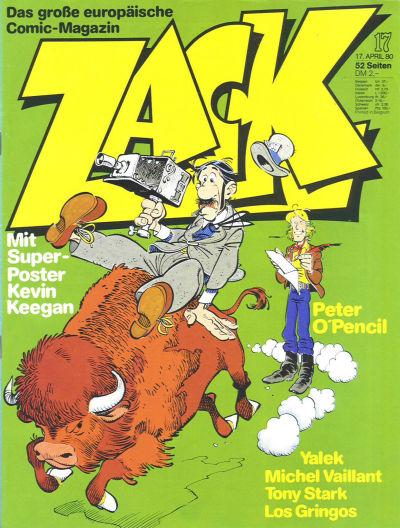 Cover for Zack (Koralle, 1972 series) #17/1980
