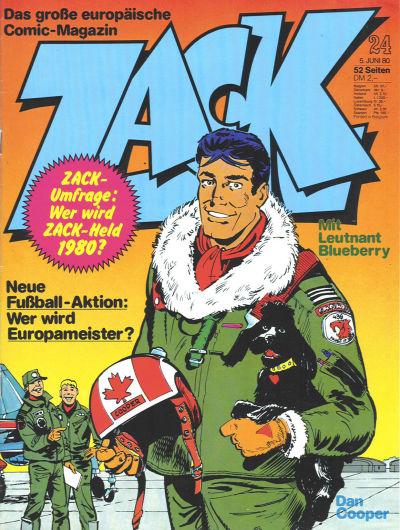 Cover for Zack (Koralle, 1972 series) #24/1980