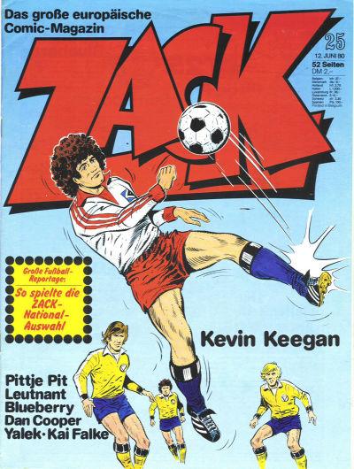 Cover for Zack (Koralle, 1972 series) #25/1980