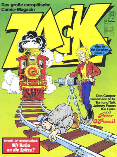Cover for Zack (Koralle, 1972 series) #30/1980